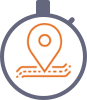 Online tracking trip status on gps tracking mobile application